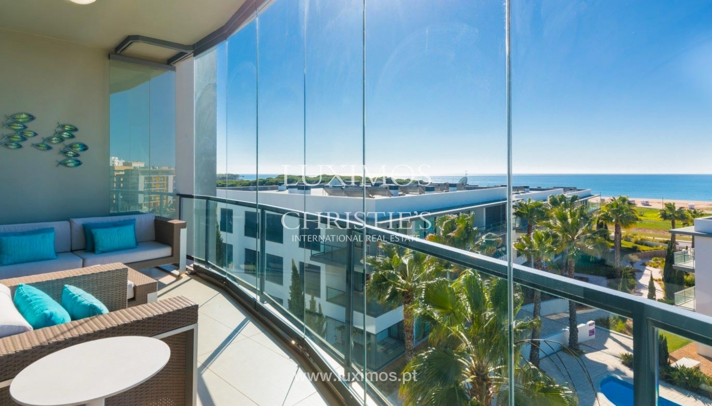 Apartment for sale with pool and sea view, Quarteira, Algarve,Portugal_74321