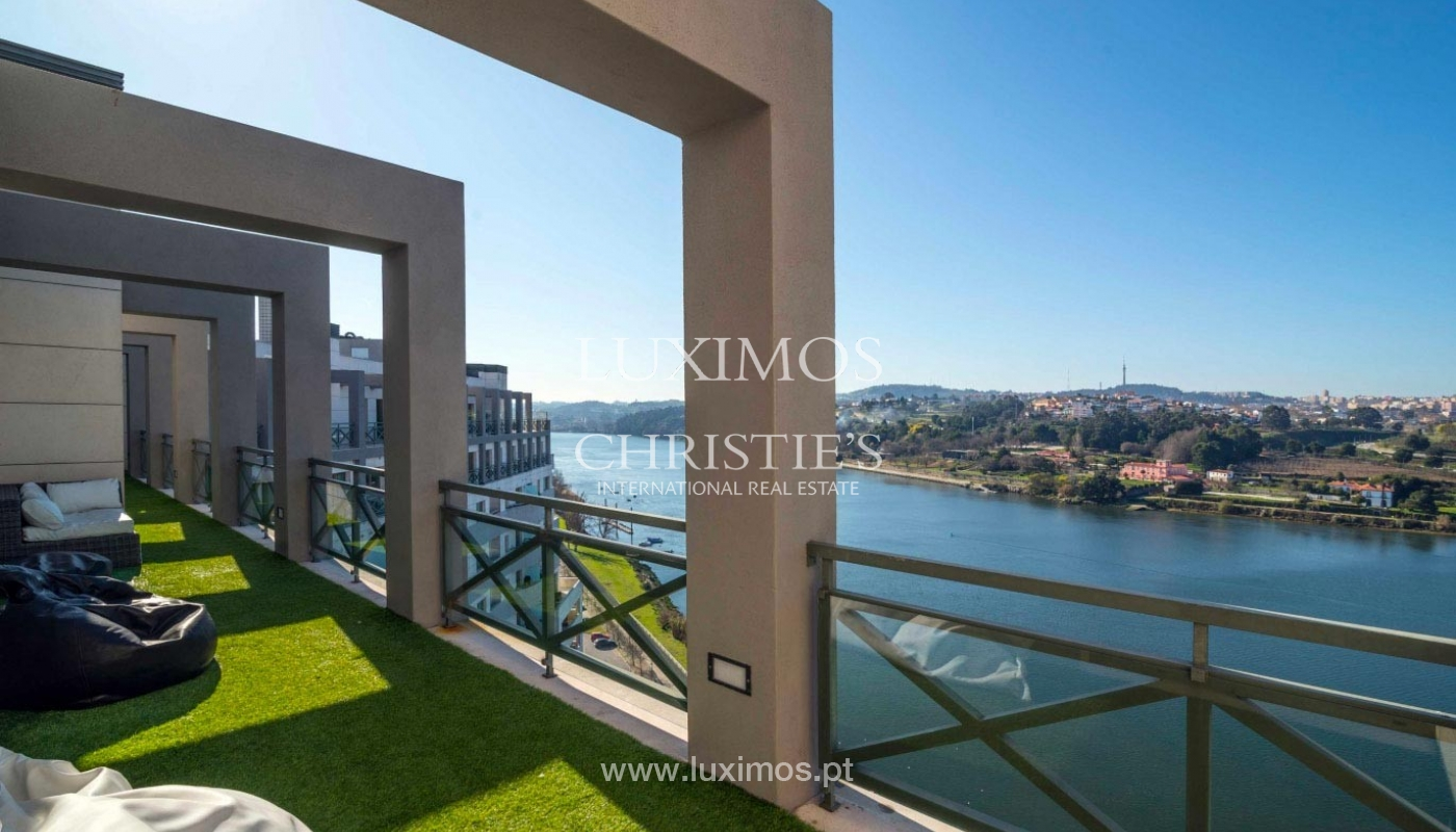 Modern and luxurious penthouse, river views, Porto, Portugal _74881