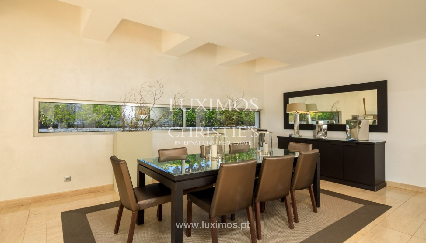 Villa en venta, piscina, vista golf y mar, Vale Lobo, Algarve,Portugal_75635