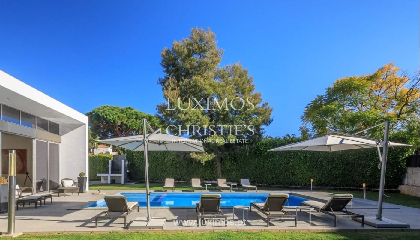 Villa en venta, piscina, vista golf y mar, Vale Lobo, Algarve,Portugal_75637