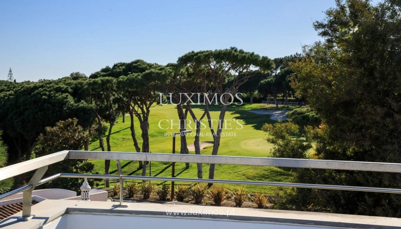 Villa en venta, piscina, vista golf y mar, Vale Lobo, Algarve,Portugal_75638
