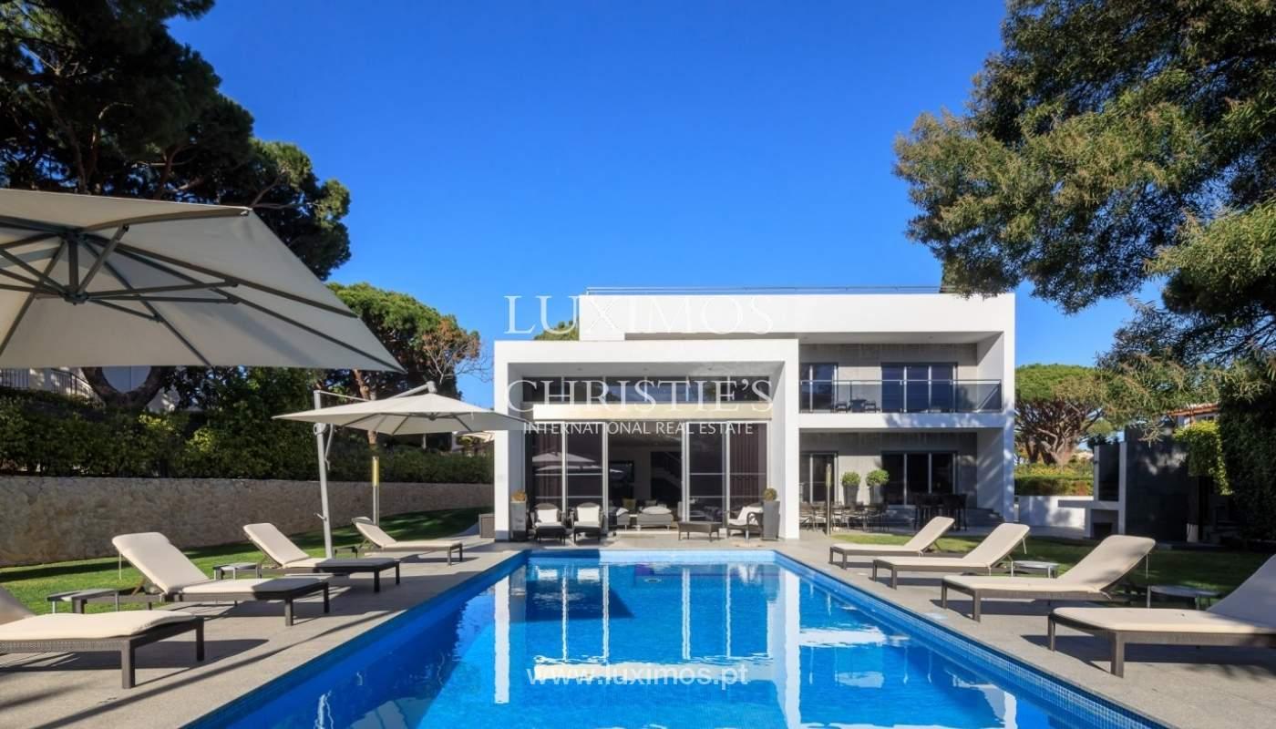 Villa en venta, piscina, vista golf y mar, Vale Lobo, Algarve,Portugal_75640