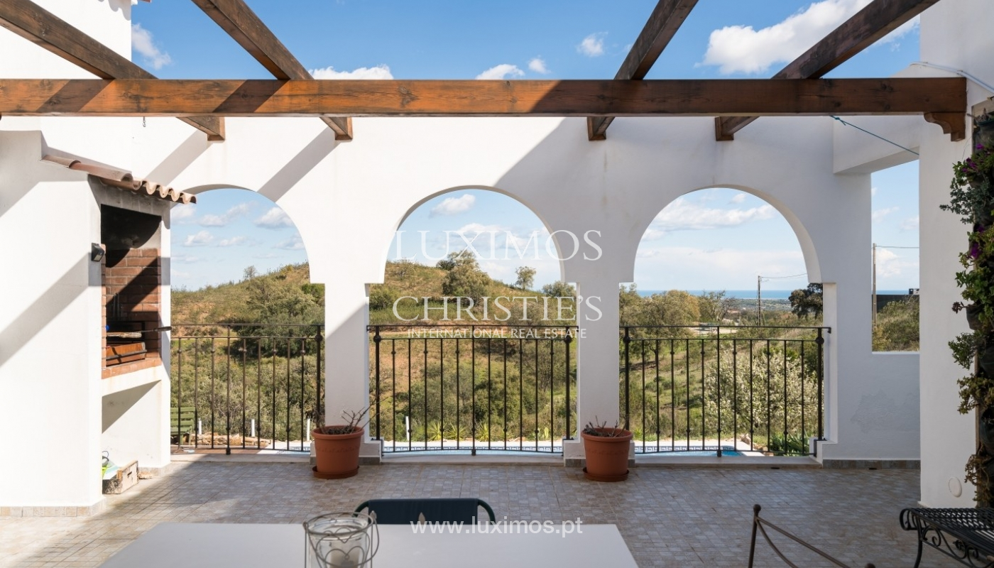 Villa for sale, pool, sea and mountain view, Tavira, Algarve, Portugal_76001