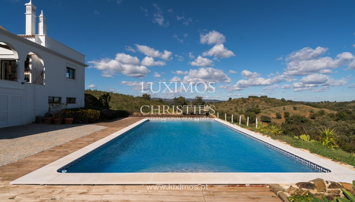 Villa for sale, pool, sea and mountain view, Tavira, Algarve, Portugal_76005