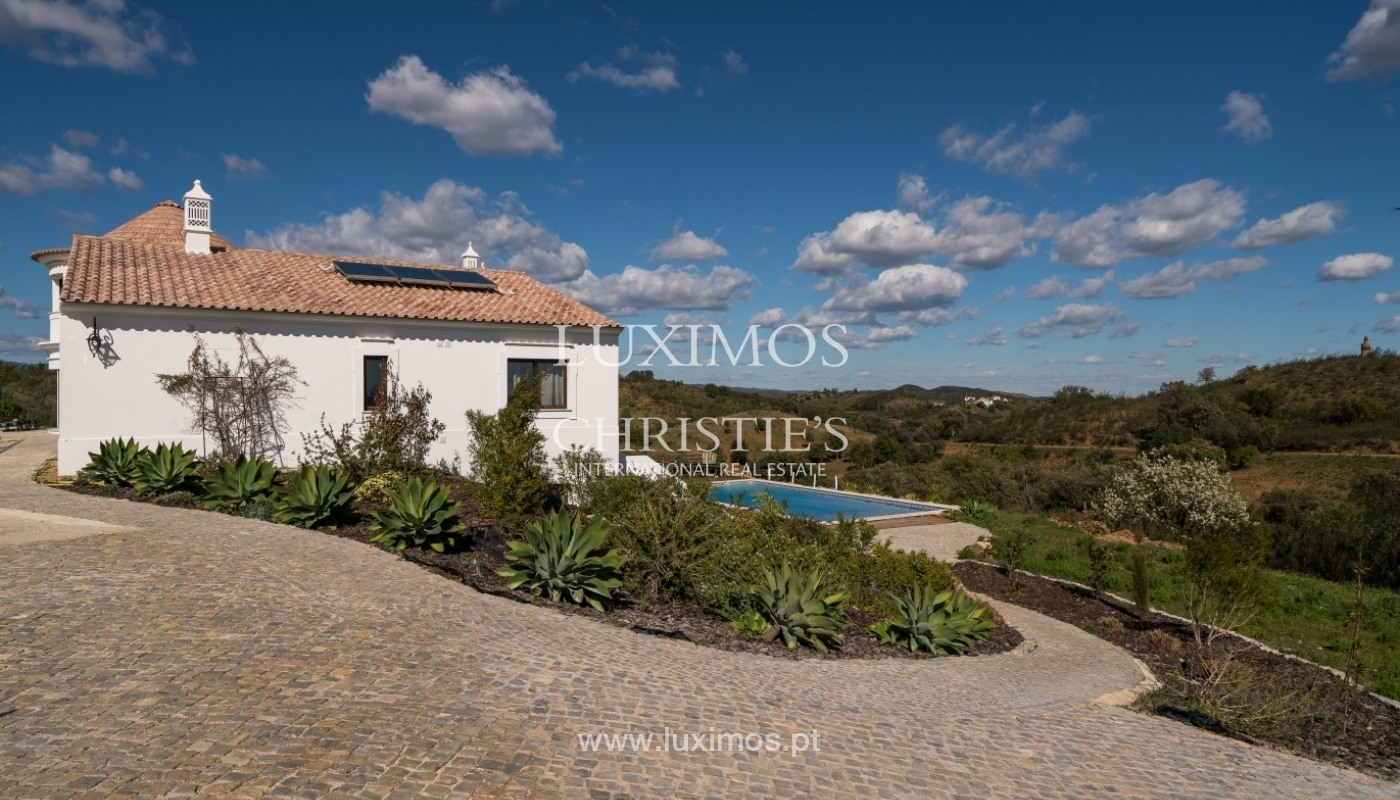 Villa for sale, pool, sea and mountain view, Tavira, Algarve, Portugal_76008