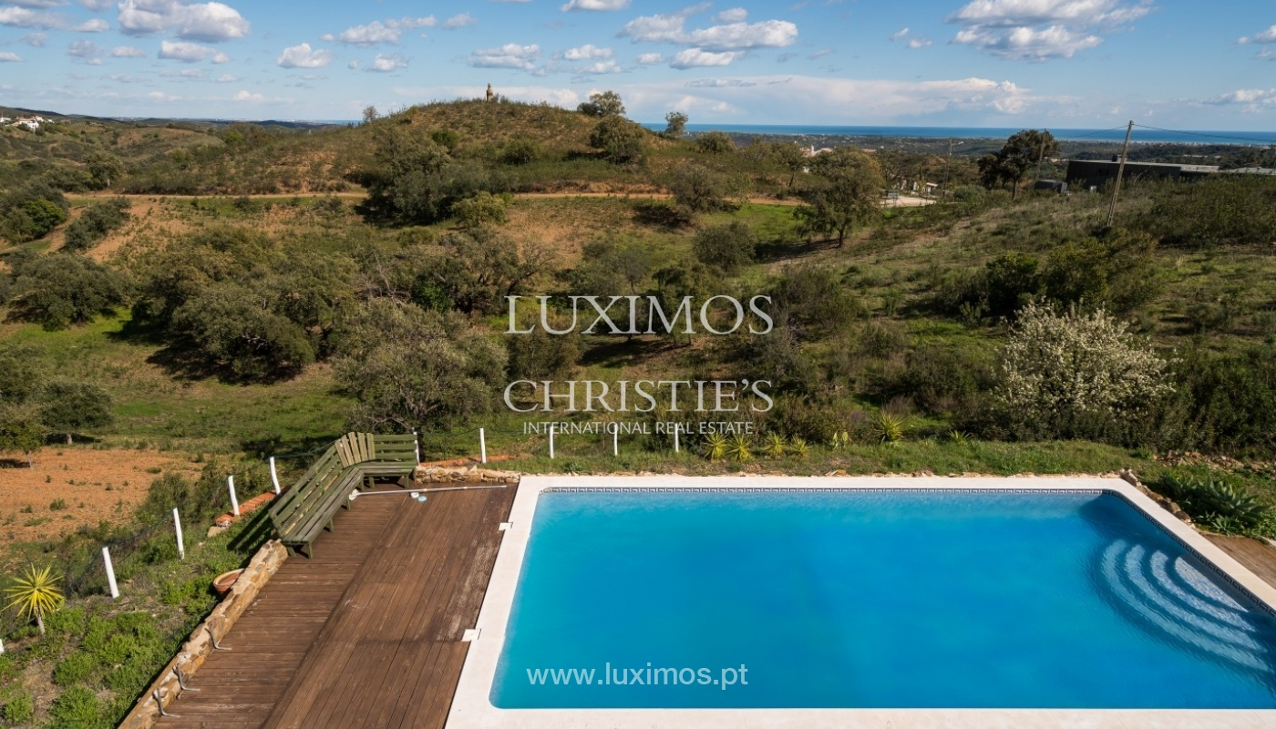 Villa for sale, pool, sea and mountain view, Tavira, Algarve, Portugal_76012