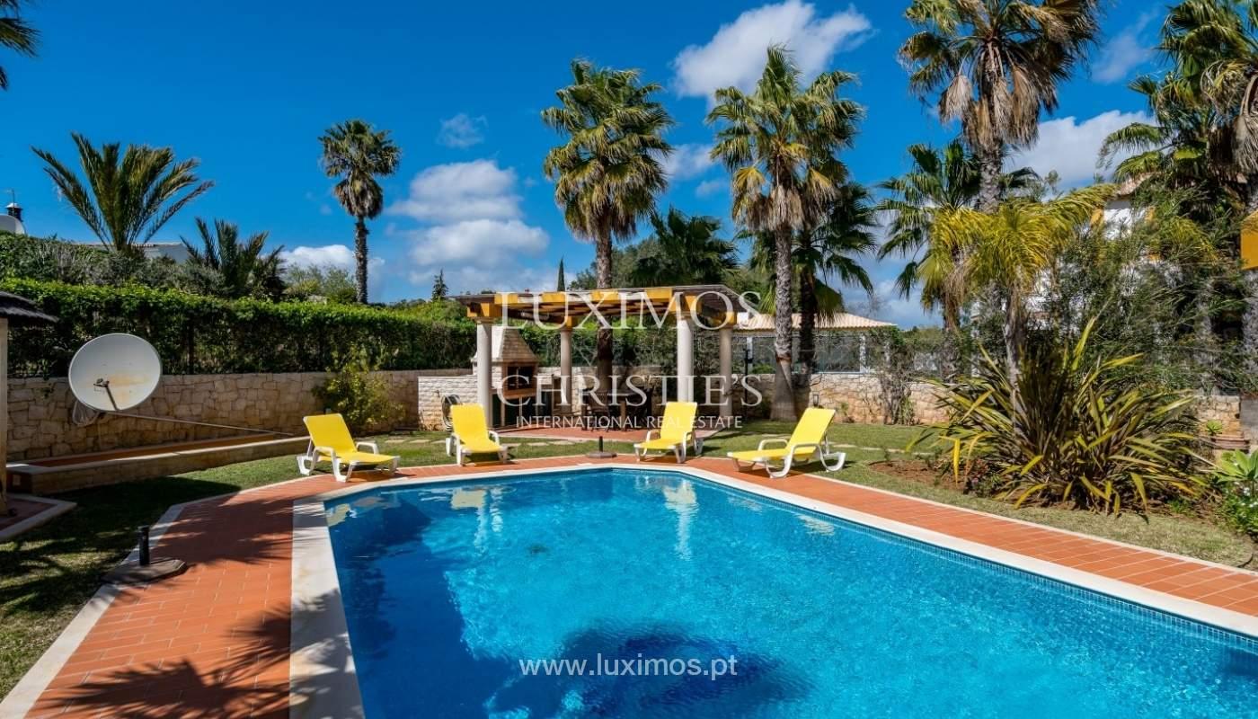 Freistehende villa zum Verkauf mit pool, in der Nähe von Strand und golf, Albufeira, Algarve, Portugal_76317