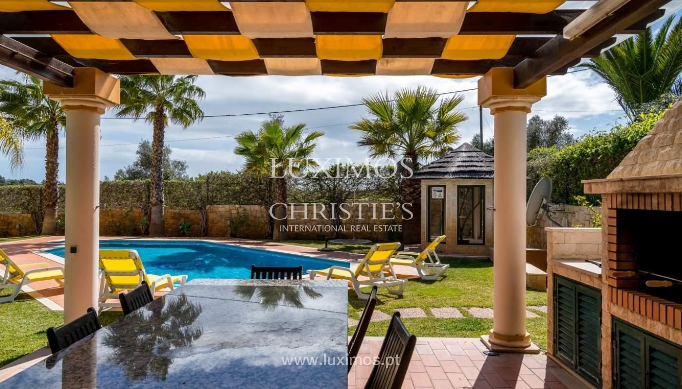 Freistehende villa zum Verkauf mit pool, in der Nähe von Strand und golf, Albufeira, Algarve, Portugal_76319