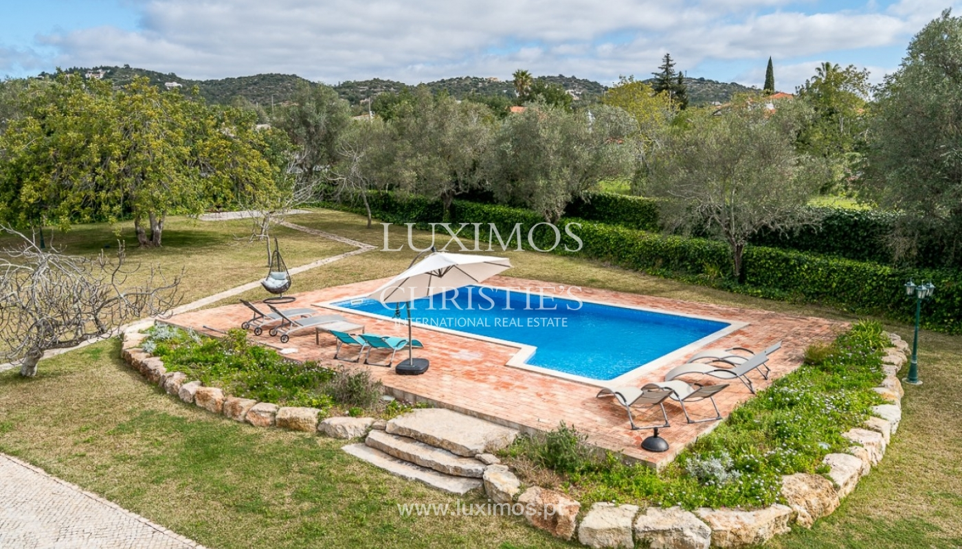 Villa for sale, pool and gardens, Sta Bárbara Nexe, Algarve, Portugal_76562