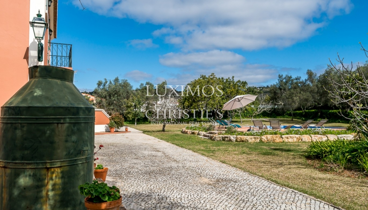 Villa for sale, pool and gardens, Sta Bárbara Nexe, Algarve, Portugal_76578
