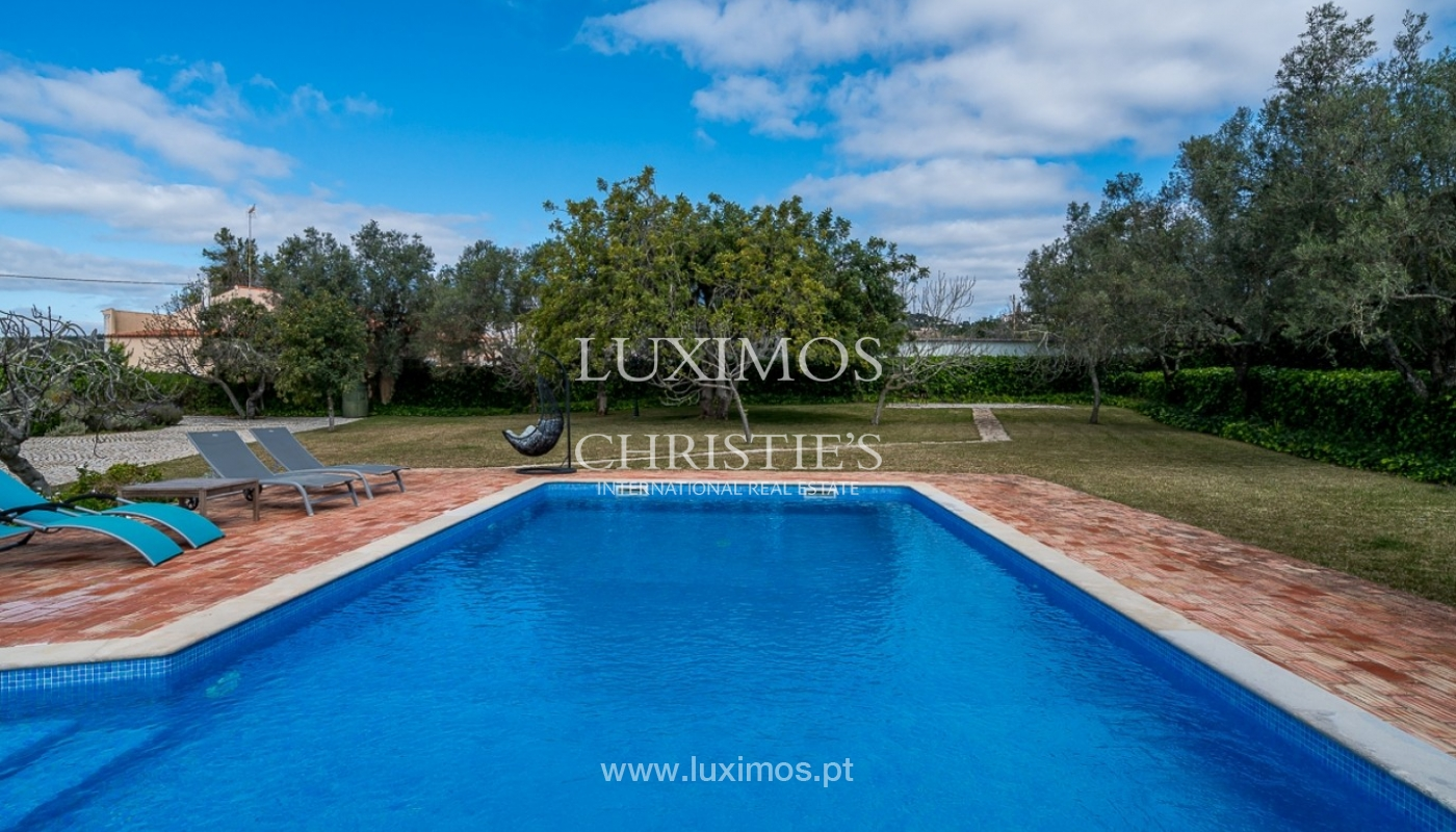 Villa for sale, pool and gardens, Sta Bárbara Nexe, Algarve, Portugal_76582