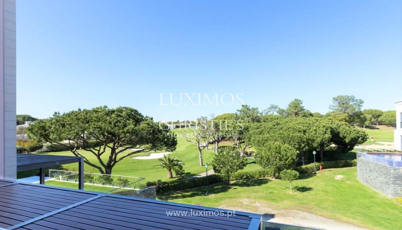 Wohnung zum Verkauf mit pool und Blick auf den Golfplatz Vale do Lobo, Algarve, Portugal_76813