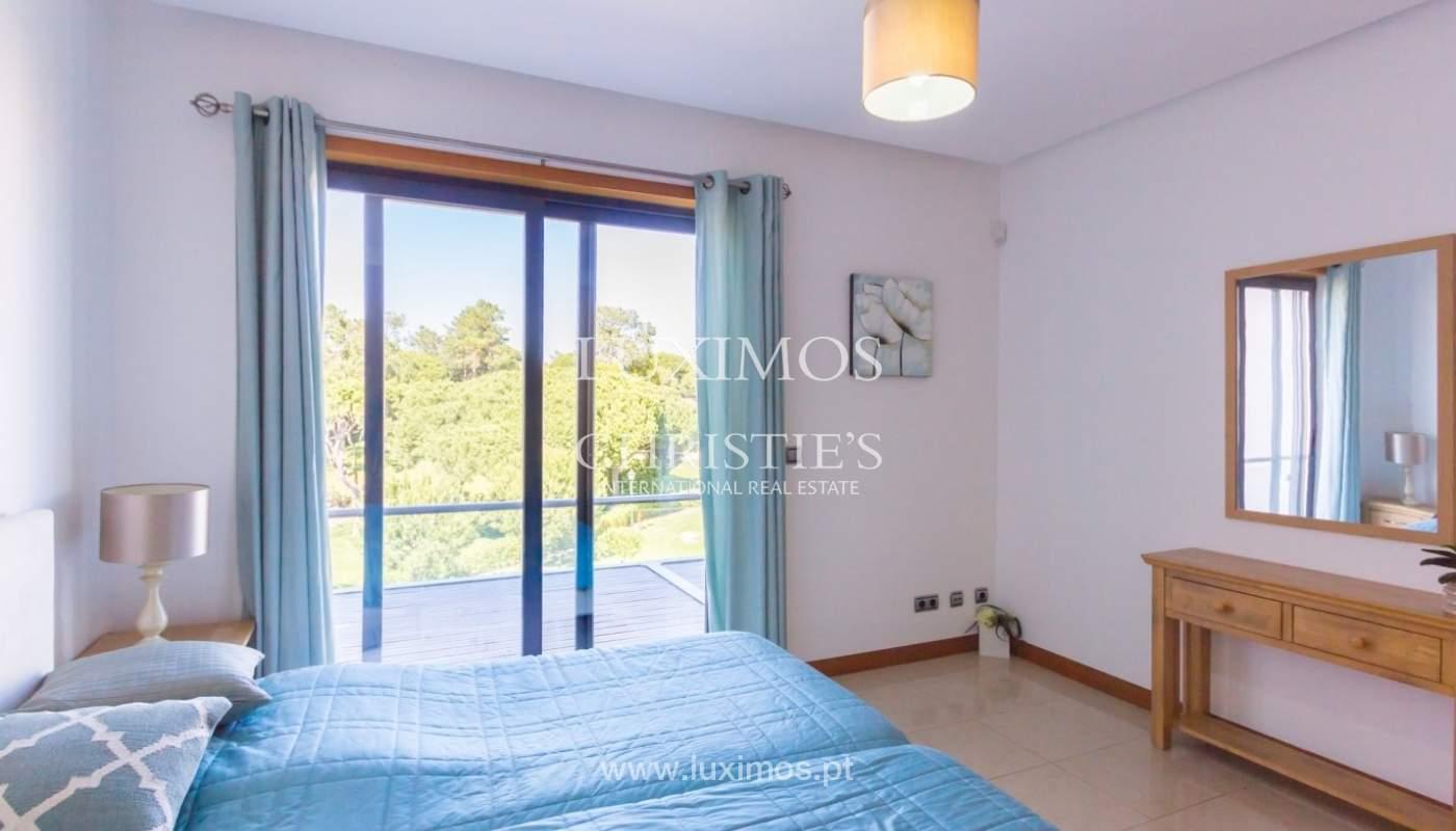 Wohnung zum Verkauf mit pool und Blick auf den Golfplatz Vale do Lobo, Algarve, Portugal_76817