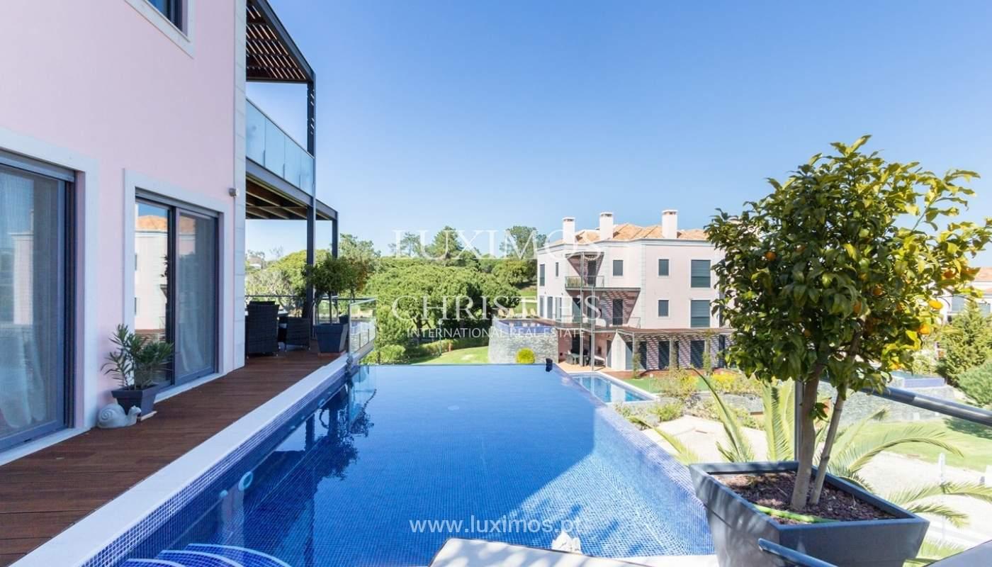 Wohnung zum Verkauf mit pool und Blick auf den Golfplatz Vale do Lobo, Algarve, Portugal_76818