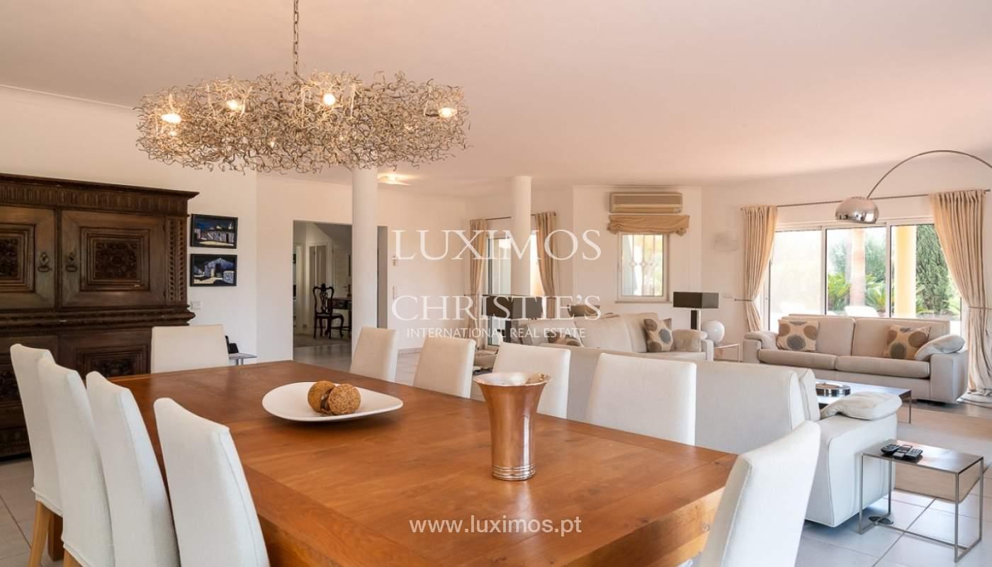 Vente villa de luxe avec piscine, terrain de Golf, Lagoa, Algarve, Portugal_76823