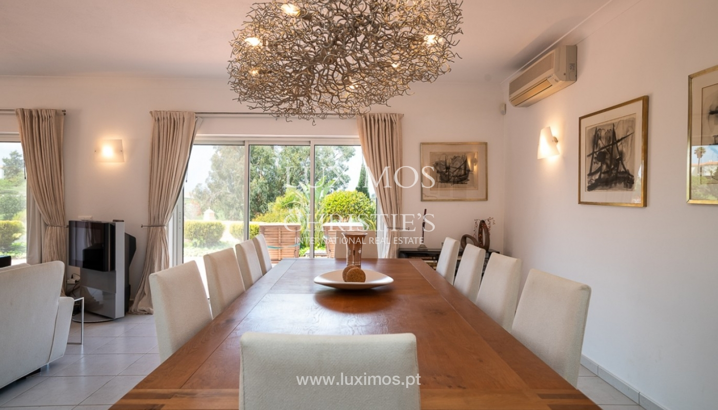 Luxury villa for sale with pool, golf course, Lagoa, Algarve, Portugal_76825