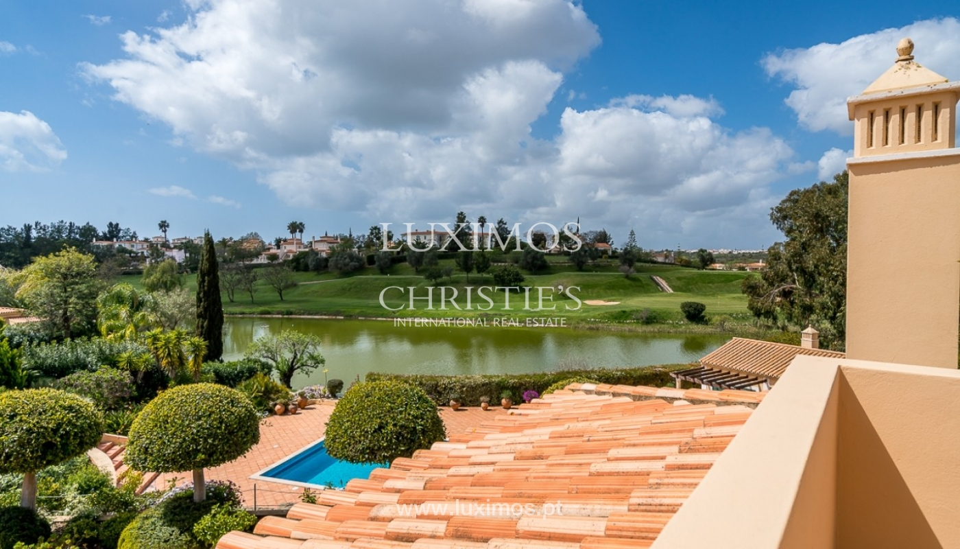 Luxury villa for sale with pool, golf course, Lagoa, Algarve, Portugal_76841