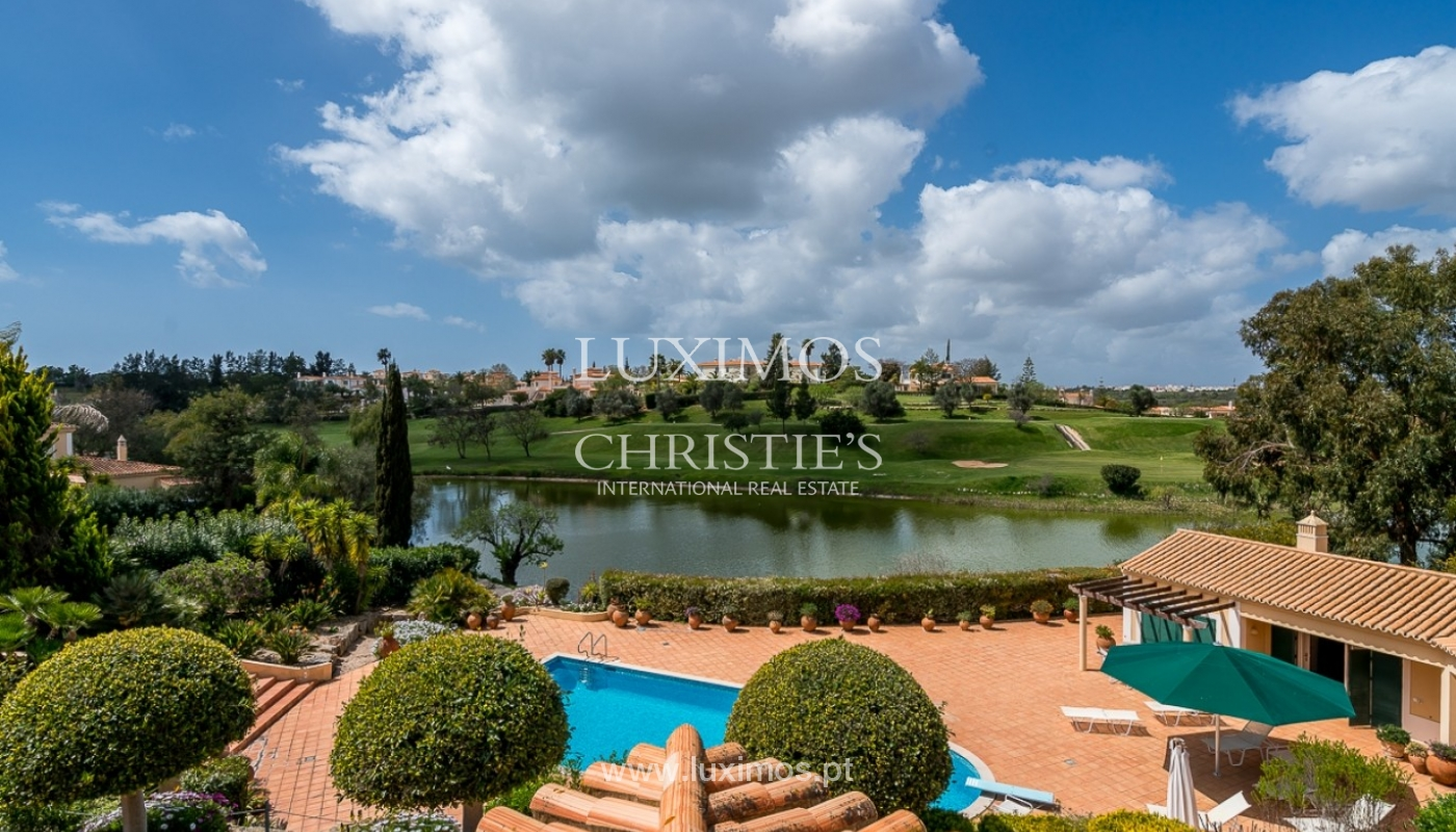 Luxury villa for sale with pool, golf course, Lagoa, Algarve, Portugal_76842