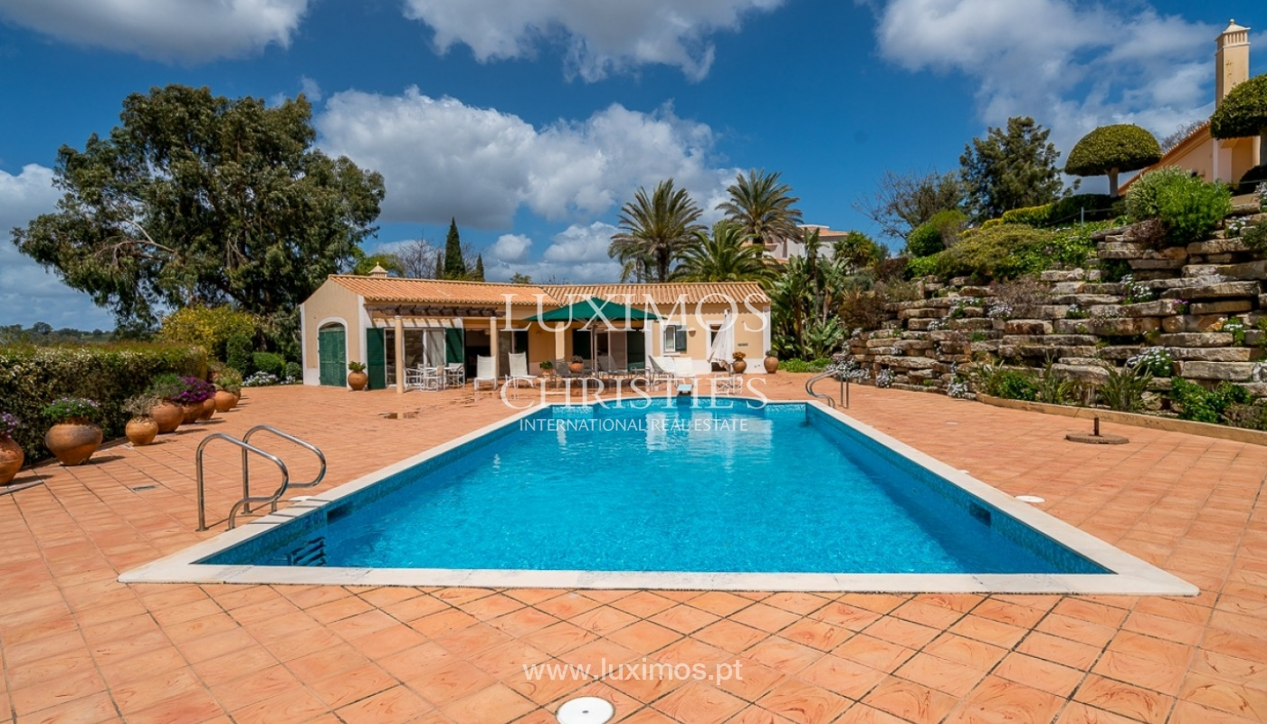 Luxury villa for sale with pool, golf course, Lagoa, Algarve, Portugal_76861