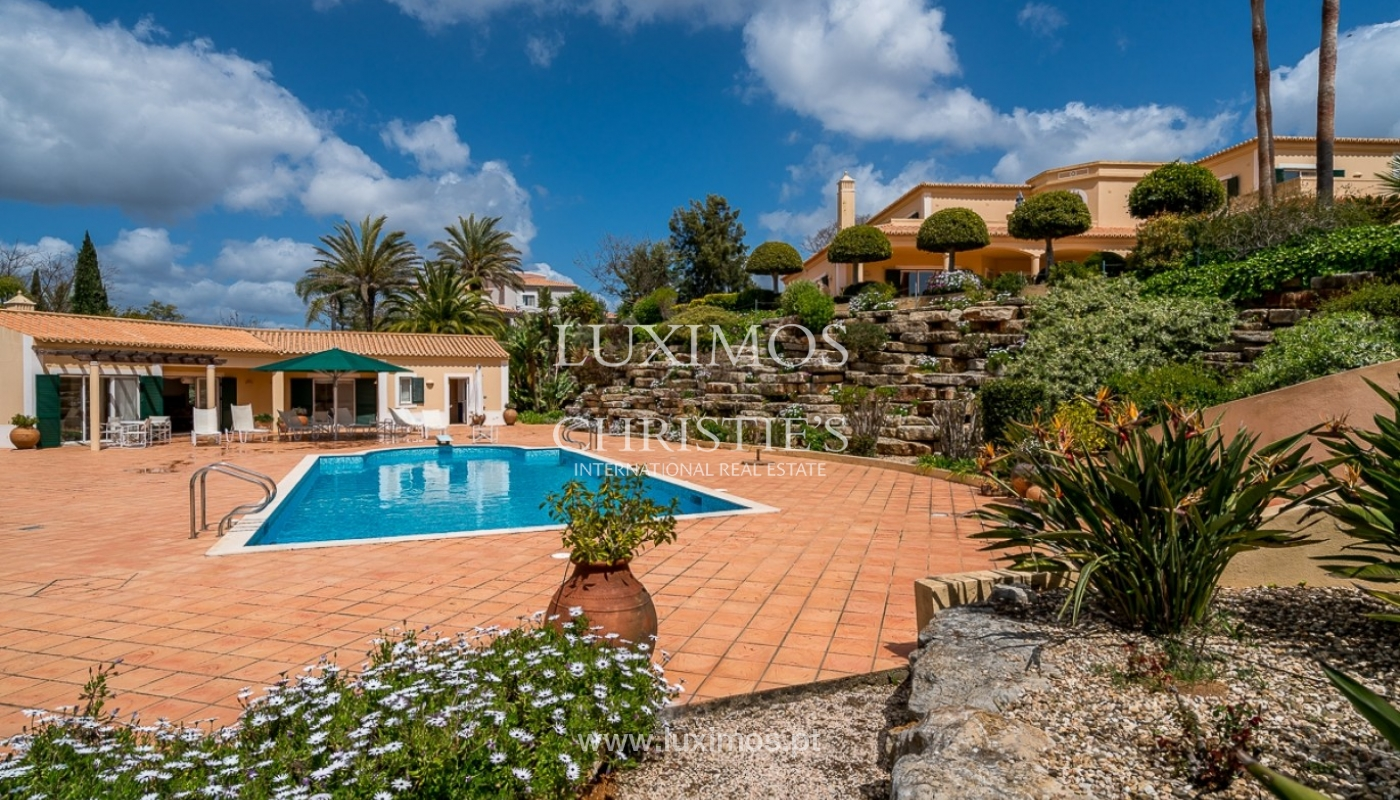 Luxury villa for sale with pool, golf course, Lagoa, Algarve, Portugal_76863