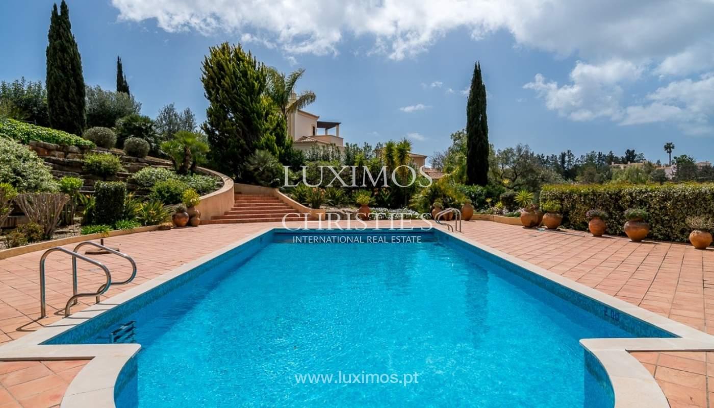 Vente villa de luxe avec piscine, terrain de Golf, Lagoa, Algarve, Portugal_76870