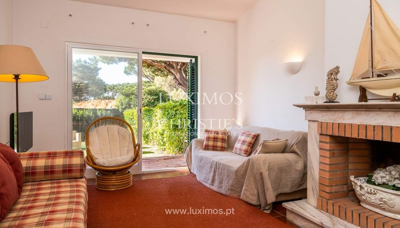 Moradia à venda, jardim, perto da praia e golfe, Vale do Lobo, Algarve_77385