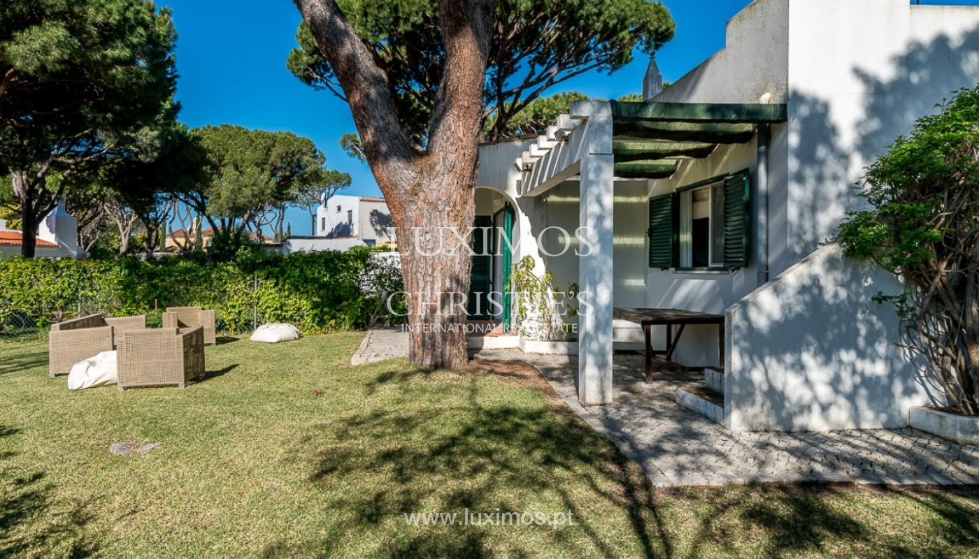 Moradia à venda, jardim, perto da praia e golfe, Vale do Lobo, Algarve_77388