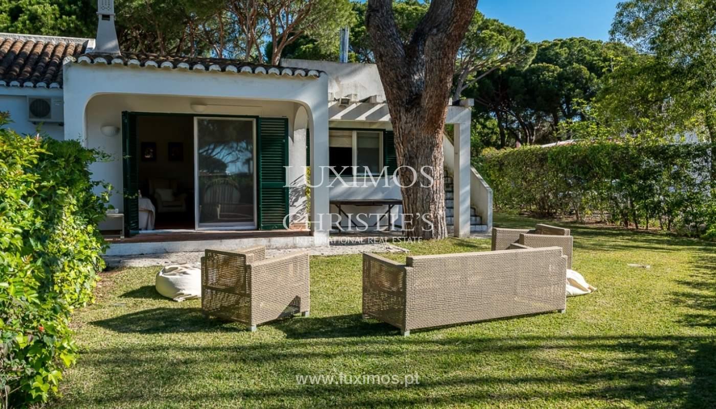 Moradia à venda, jardim, perto da praia e golfe, Vale do Lobo, Algarve_77390