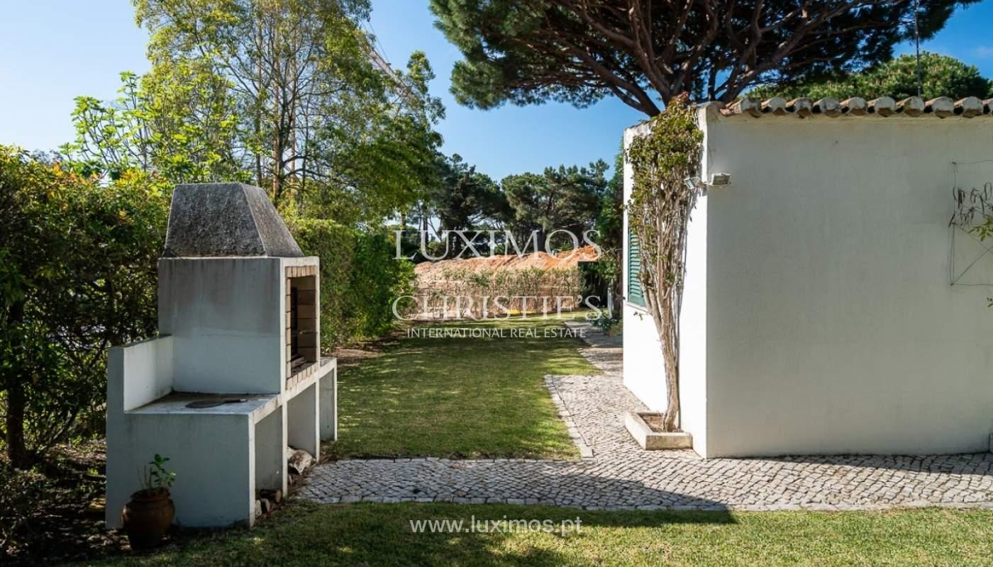 Moradia à venda, jardim, perto da praia e golfe, Vale do Lobo, Algarve_77393