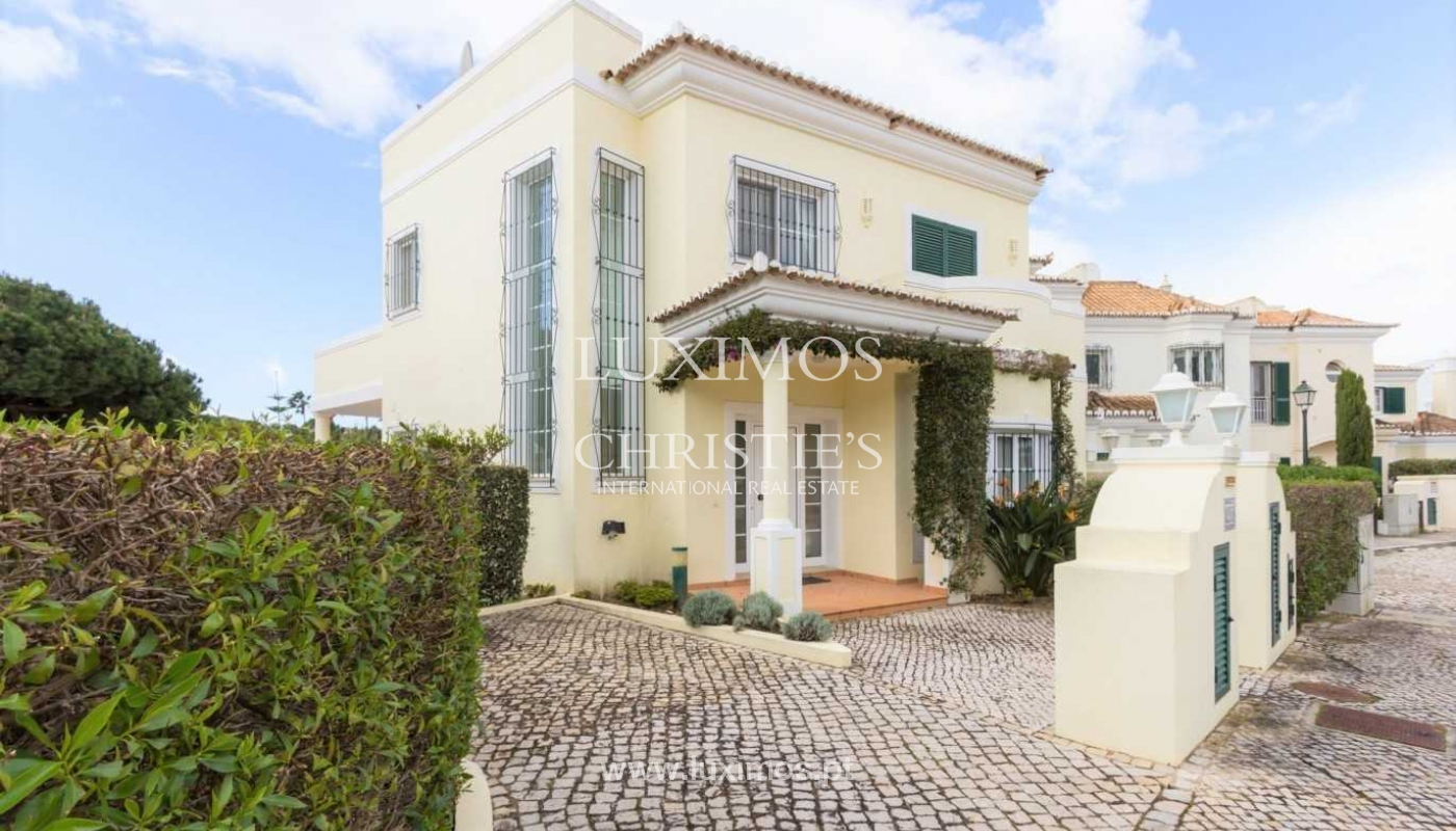 Villa en venta con piscina, vista golf, Vale do Lobo, Algarve,Portugal_77835
