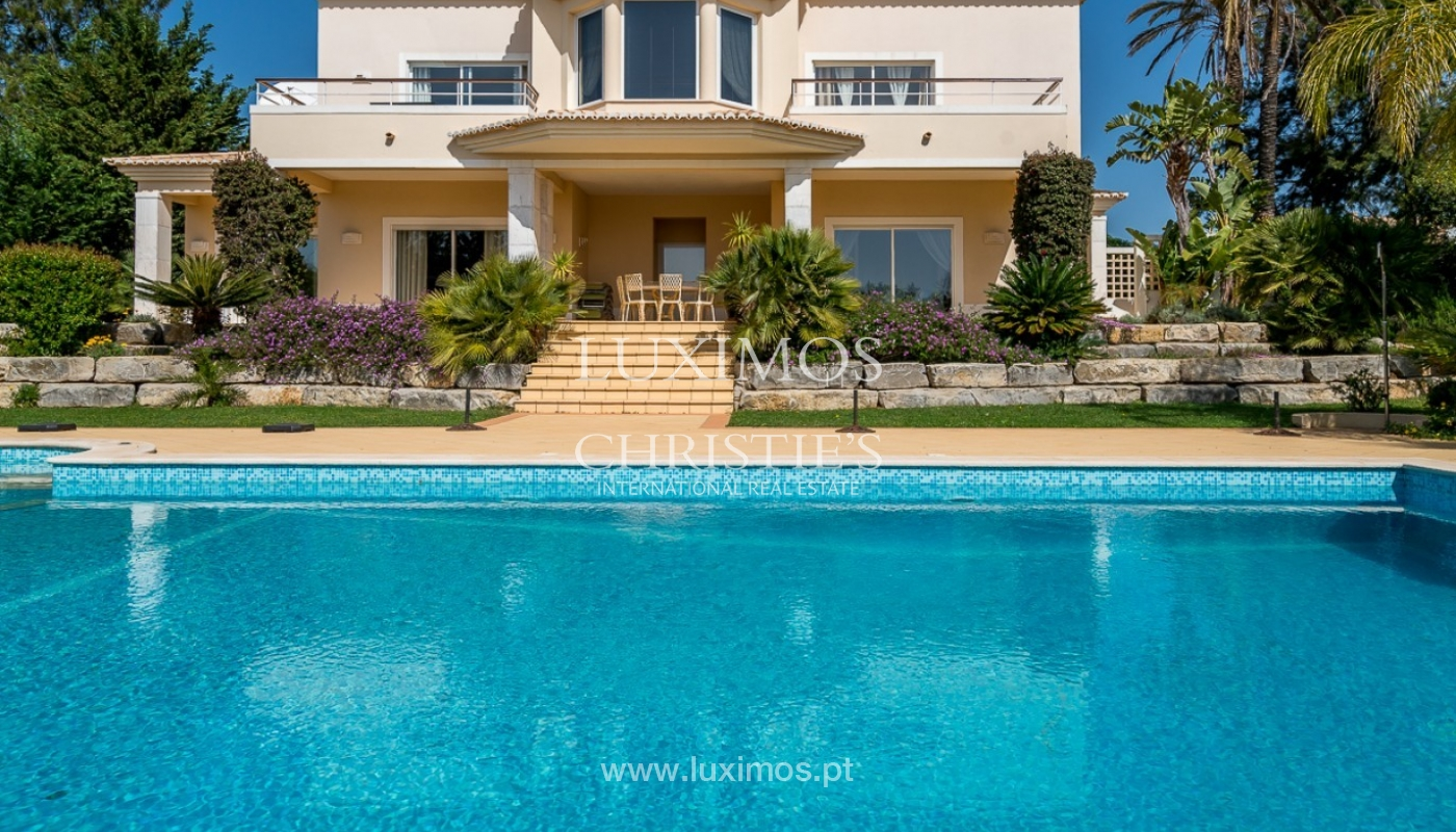 Villa for sale, sea view, pool, near golf, Carvoeiro, Algarve,Portugal_78099