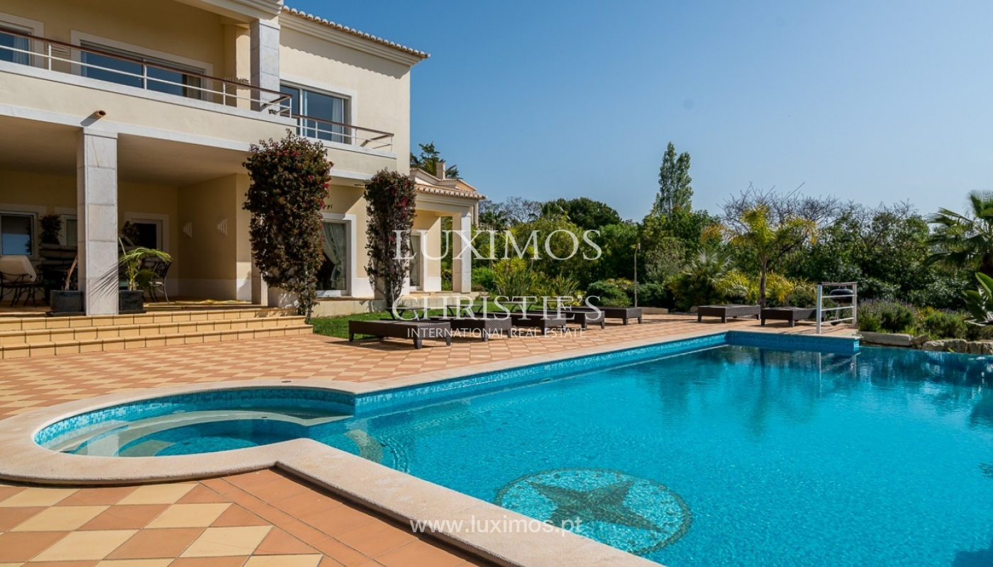 Villa for sale, sea view, pool, near golf, Carvoeiro, Algarve,Portugal_78118