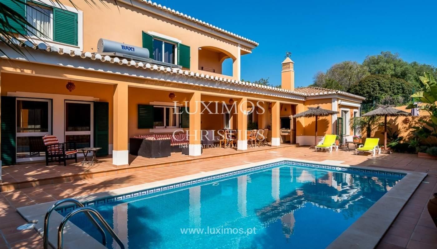 Villa individuelle à vendre, piscine, terrasse, près de plage et golf, Alvor, Algarve, Portugal_78509