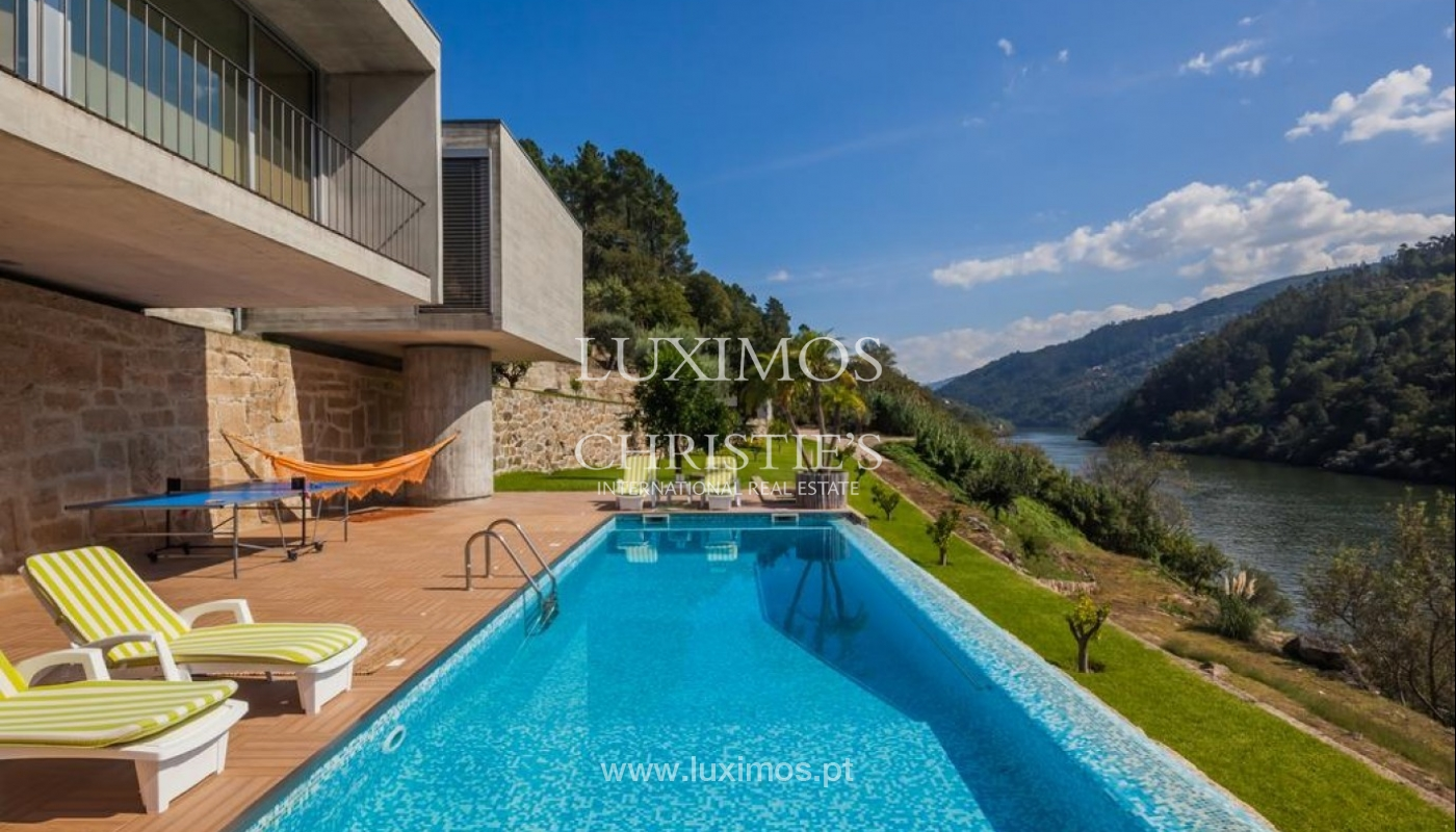 Modern and luxurious country house, Douro, Porto, Portugal _78678