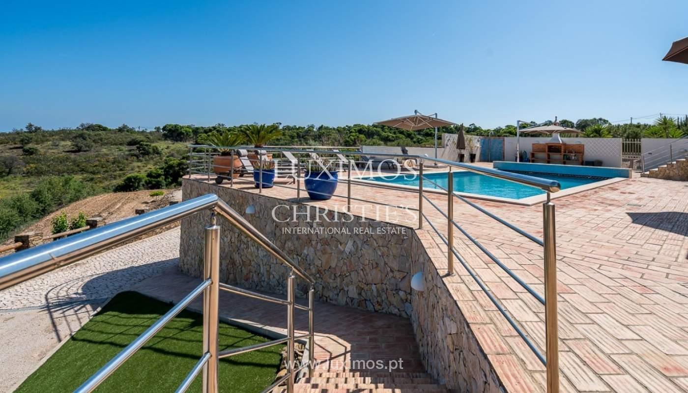 Freistehende villa zum Verkauf mit pool, Garten und Meerblick, Tavira, Algarve_78911