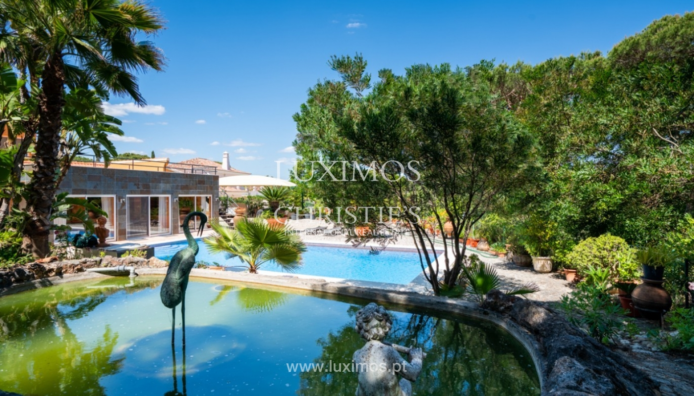 Villa for sale with pool, on golf course, Vilamoura, Algarve, Portugal_79694
