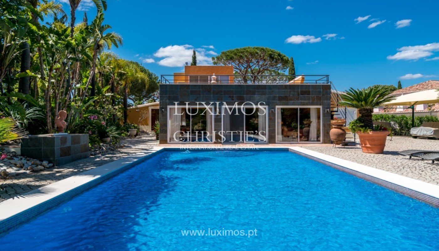 Villa for sale with pool, on golf course, Vilamoura, Algarve, Portugal_79695