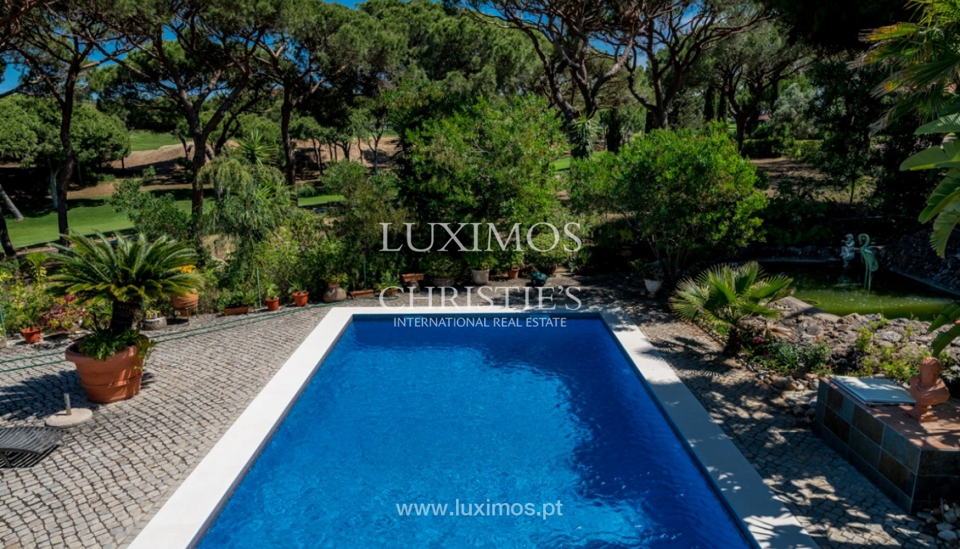 Villa for sale with pool, on golf course, Vilamoura, Algarve, Portugal_79701