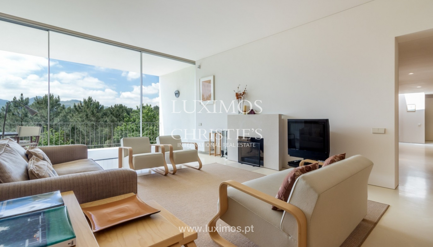 Sale of villa w/ garden and pool, near the golf, Ponte Lima, Portugal_80057