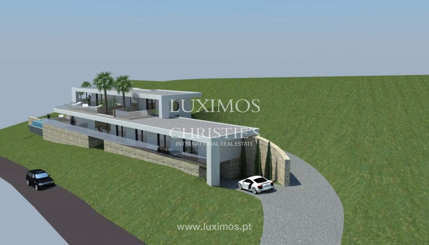 Plot area for sale to build a villa, sea view, Loulé, Algarve,Portugal_81464