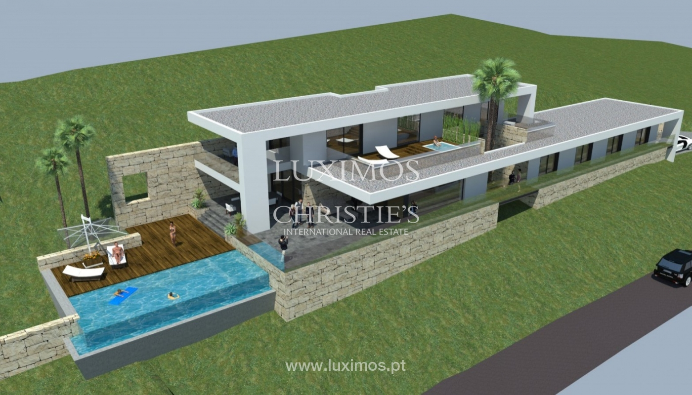 Terreno en venta para construir chalet, vistas mar, Algarve, Portugal_81466