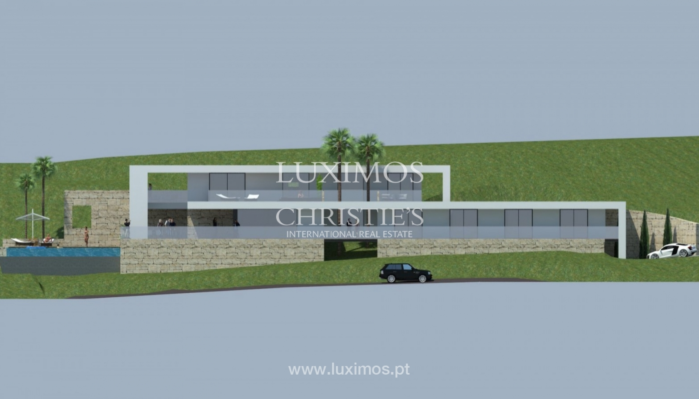 Terreno en venta para construir chalet, vistas mar, Algarve, Portugal_81473