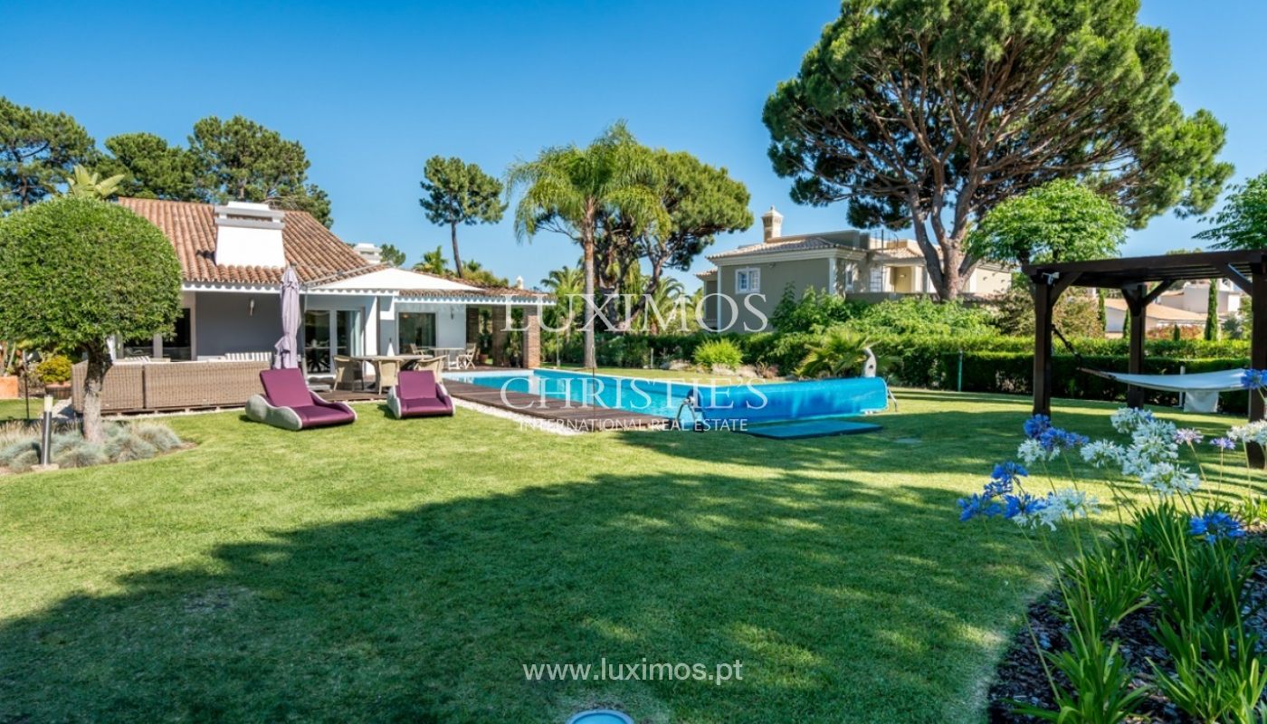 Luxury villa for sale with pool in Vilamoura, Algarve, Portugal_82659