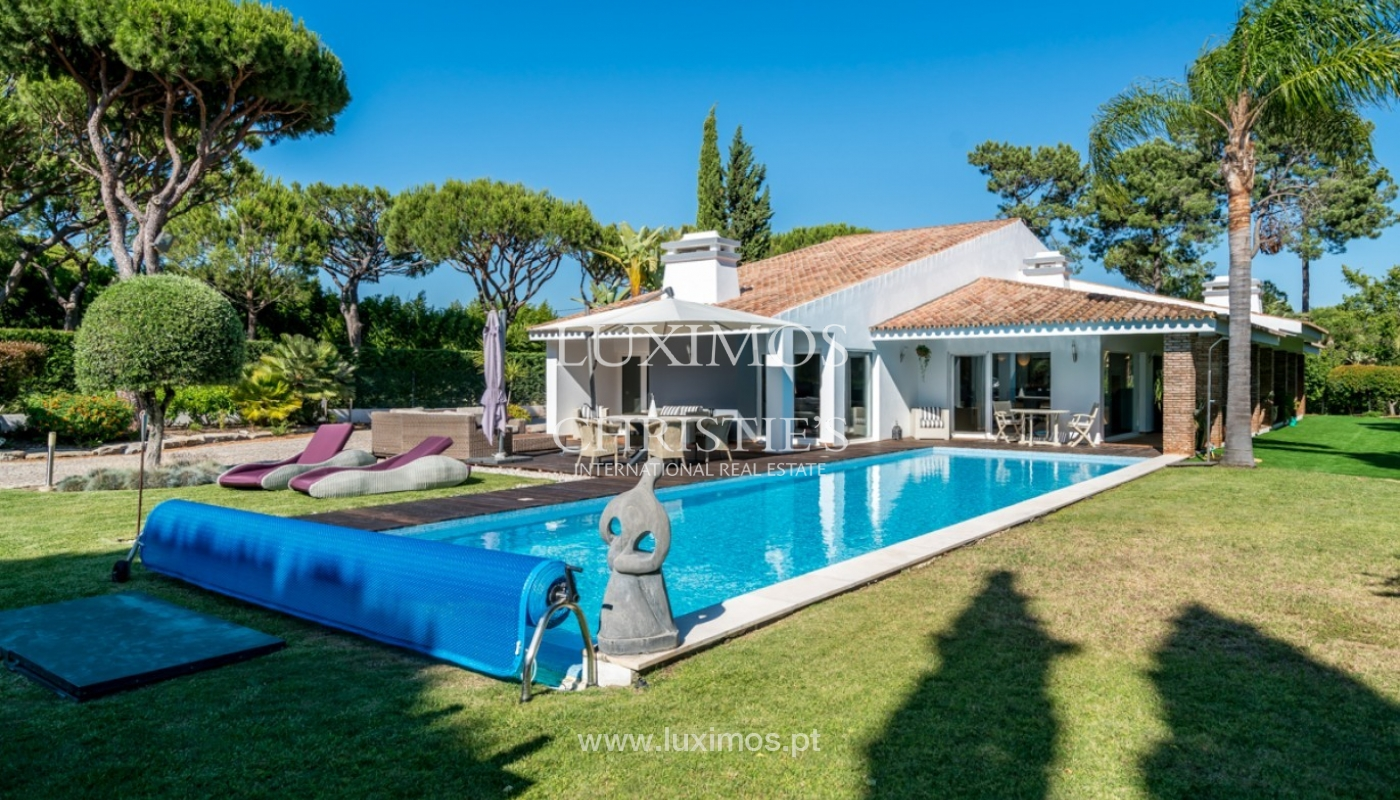 Luxury villa for sale with pool in Vilamoura, Algarve, Portugal_82661