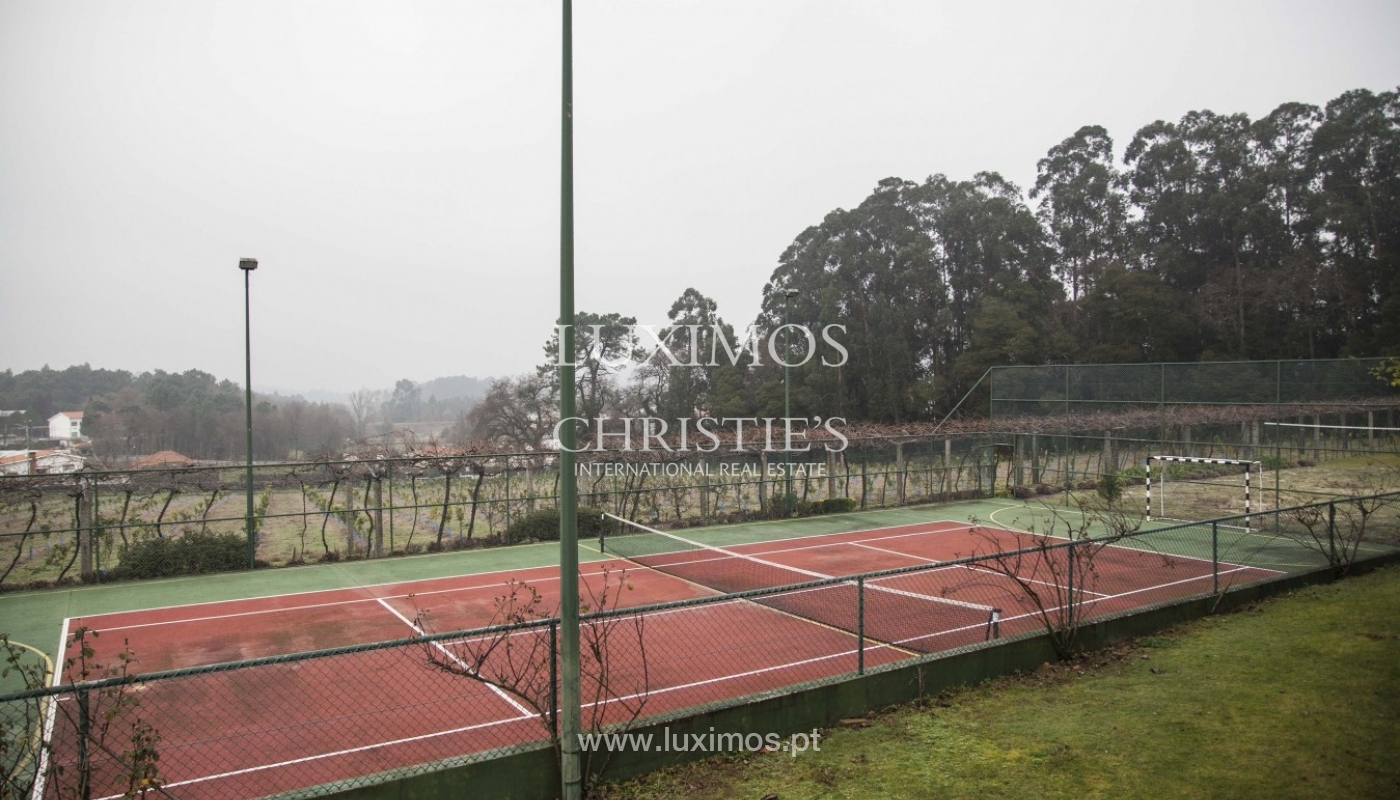 Country House with swimming pool, tennis court and plot area in Porto, Portugal_8324