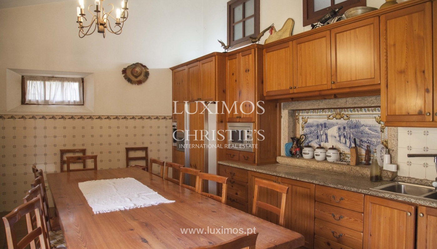 Country House with swimming pool, tennis court and plot area in Porto, Portugal_8327