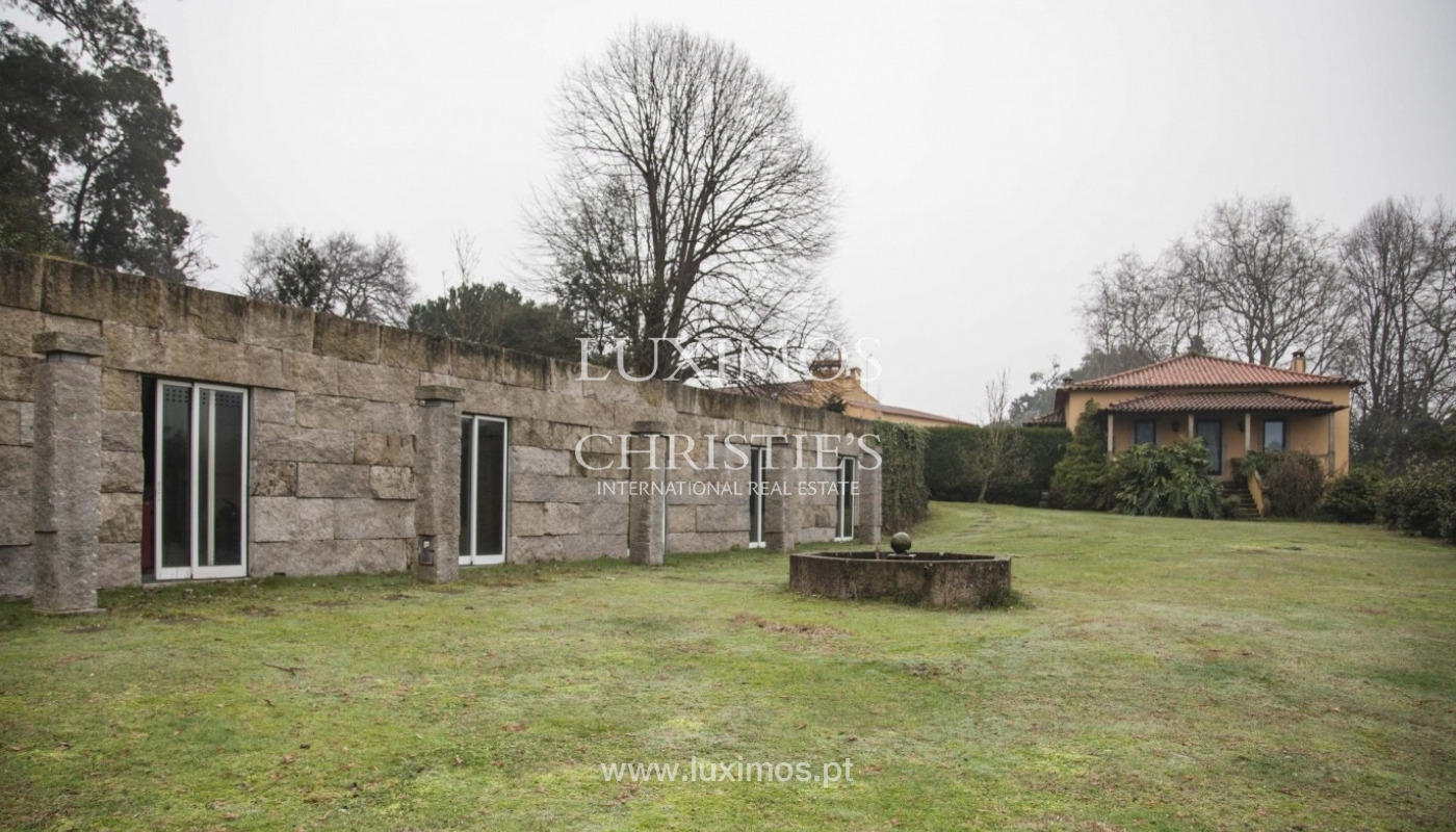 Country House with swimming pool, tennis court and plot area in Porto, Portugal_8347