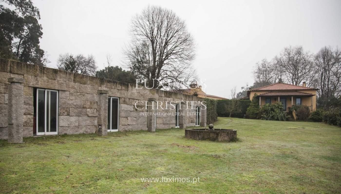 Quinta con piscina, pista de tenis y un terreno en el Muro, Porto, Portugal_8347
