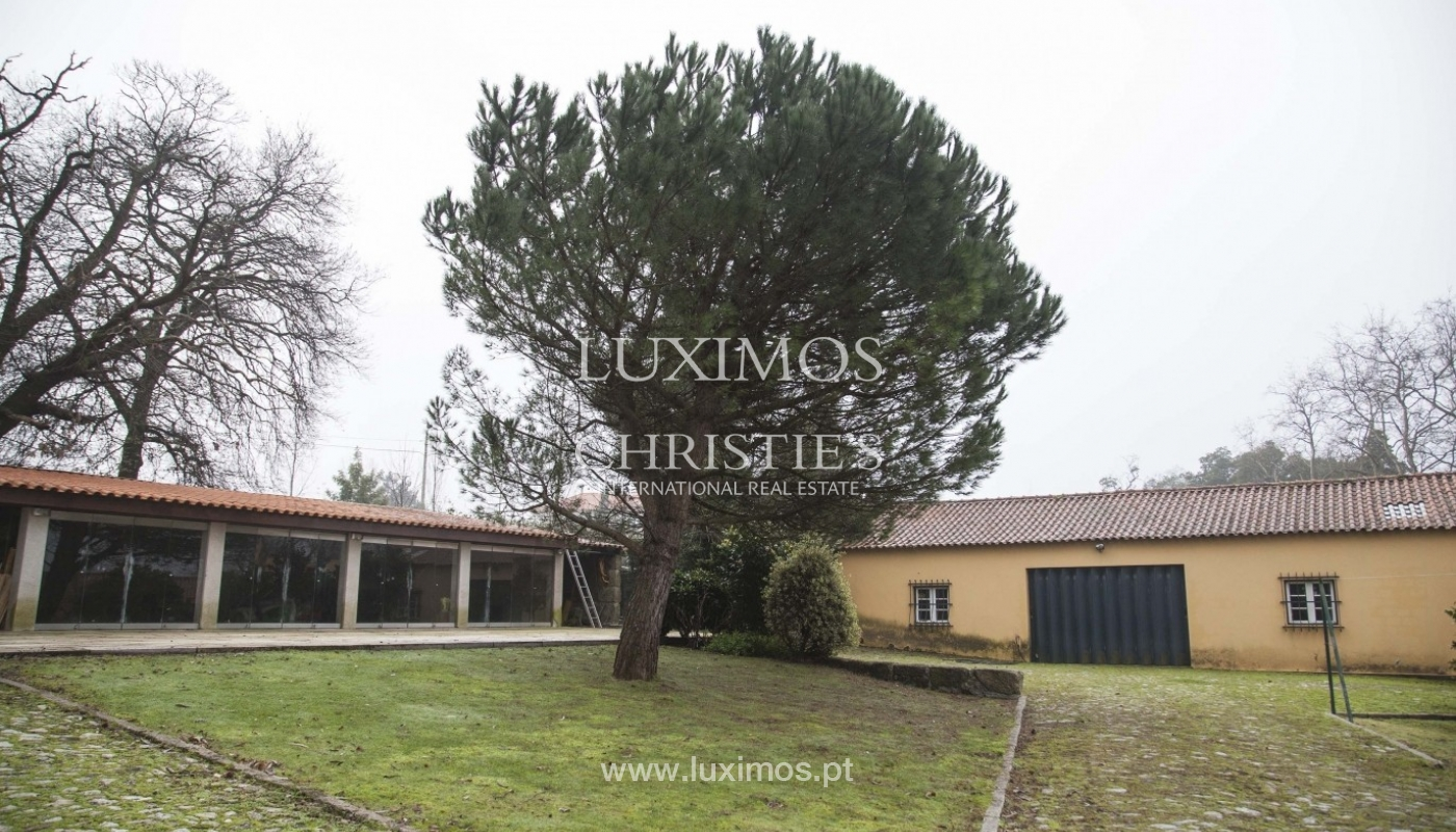 Country House with swimming pool, tennis court and plot area in Porto, Portugal_8353