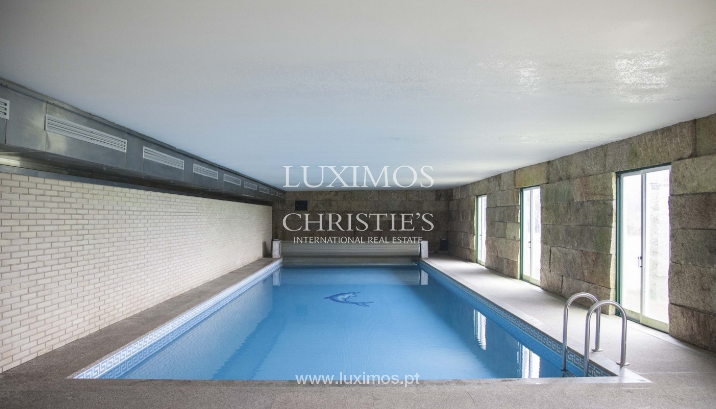 Country House with swimming pool, tennis court and plot area in Porto, Portugal_8362